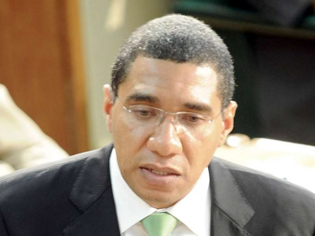 "An ""enemy of the state""? Opposition Leader Andrew Holness."