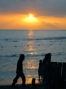 Calabash Bay sunset: Treasure Beach, St. Elizabeth (My photo)
