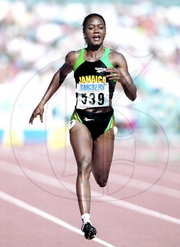 """Jamaica's """"Bronze Queen"""" Merlene Ottey. (Photo: Gleaner/diGJamaica)"""