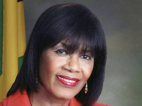 Prime Minister Portia Simpson Miller.