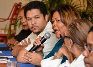 """Marcia Forbes, businesswoman/author/51% Coalition: """"A great deal more needs to be done if women are to achieve full citizenship rights and to be equally involved in the development of Jamaica."""""""