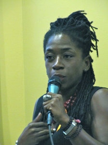 """Nadine McNeill, global humanitarian: """"There is some kind of war on the psyche that's now taking place (in Jamaica."""""""