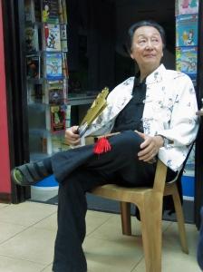 Chungliang Al Huang at Bookophilia, Kingston last month. (My photo)