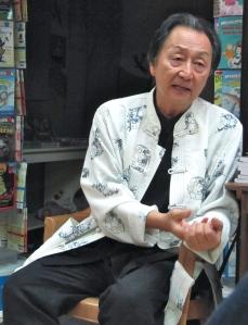 Chungliang Al Huang at Bookophilia. (My photo)