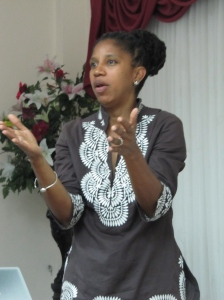 """Carol Narcisse, Jamaica Civil Society Coalition: """"We must keep in mind...What IS in the public interest?"""""""
