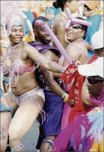 Party on... Carnival in Jamaica is a great opportunity for more of the same. (Photo: Winston Sill/Gleaner)