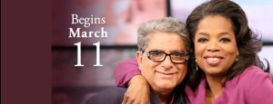 Deepak and Oprah: Two celebrities who just launched their latest meditation challenge.