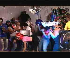 "A still from a video aired on a music show ""Intense."" (televisionjamaica.com)"