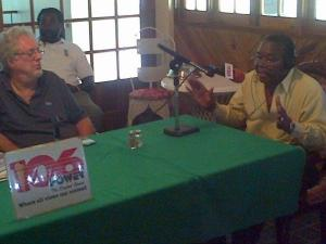 "Hoteliers in Negril, Westmoreland discuss issues affecting their business at an outside broadcast of Power 106 FM's ""Justice"" at the Charela Inn, Negril last week. (Photo: Justice Facebook page)"