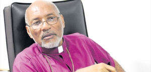 The Rt. Rev. Dr. Howard Gregory, 14th Bishop of Jamaica and the Cayman Islands. A man who talks straight. (Photo: Jamaica Observer)