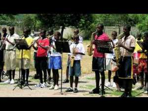 The Alpha Boys School Band.