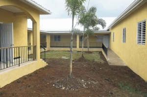 This is a lovely NEW infirmary for the indigent/elderly in Lucea, Hanover. They should be moving in this month. But this is an exception to the rule. (Photo: Anthony Lewis/Jamaica Observer)