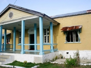 The St. Mary Infirmary in Port Maria, built in 1895, is in very poor condition. It will be refurbished as Jamaica's National Labour Day Project on Wednesday. (Photo: Gleaner)