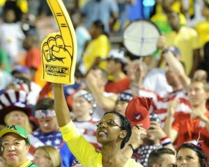 One of the great photos by Ricardo Makyn tweeted by the Gleaner on Friday evening at the Jamaica vs U.S. football game.