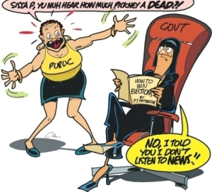 One of the Jamaica Observer's biting editorial cartoons this week.