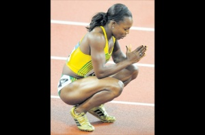 Jamaican athlete Veronica Campbell Brown is praying that everything will work out for the best. So are many Jamaicans... (Photo: Jamaica Observer)