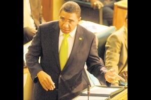 Andrew Holness, Leader of the Opposition, seems to have exhibited poor judgment. (Photo: Jamaica Gleaner)