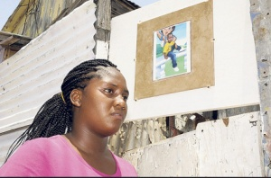 "The mother of Rushawn Burford, who was shot dead in a tenement yard in Allman Town, Kingston in January this year. The community is angry that no one has been arrested for the boy's murder. They think this is because Rushawn is ""poor people's pickney""... (Photo: Jamaica Observer)"