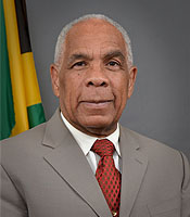 Minister of Transport, Works and Housing (and former Finance Minister) Omar Davies, M.P. (Photo: Ministry of Transport & Works)