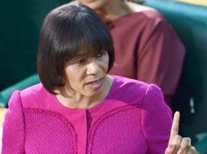 Prime Minister Portia Simpson Miller does not want Jamaicans to express their opinion on the CCJ via referendum. (Photo: Gleaner)