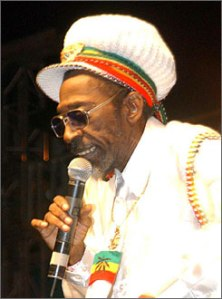 Bunny Wailer believes the grass is greener on another Caribbean island...
