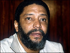 Former Prime Minister of Grenada Maurice Bishop: Born May 29, 1944. Died October 19, 1983.
