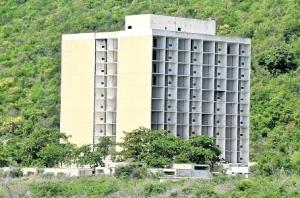 The former Forum Hotel. (Photo: Jamaica Observer)