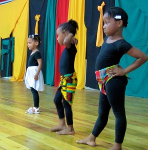 Young dancers.