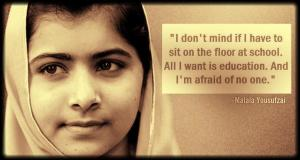 A girl who has inspired us all.
