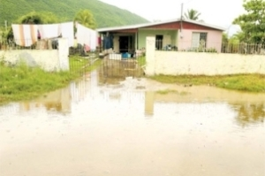 Flooding in New Haven in 2010. (Photo: Jamaica Observer)