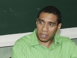 Opposition Leader Andrew Holness. (Photo: Gleaner)