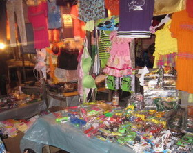 A Grand Market stall in downtown Kingston.