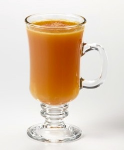 Here's an interesting recipe from Carib Journal: 1.5 oz Appleton Estate Reserve 2-3 oz Unfiltered apple cider 1 barspoon of spiced butter* Garnish: Grated Nutmeg Glass: Footed Tempered Glass/Mug Preparation: Steam until butter dissolves, and serve. Spiced butter: 4oz butter, 3oz orgeat, 3oz maple syrup, 1 tsp pumpkin spices, pinch nutmeg, pinch cloves, pinch cinnamon. Heat in a pot to combine then chill in refrigerator