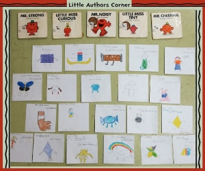 Little Authors… Yes, Trench Town Reading Centre is about reading AND writing, too!