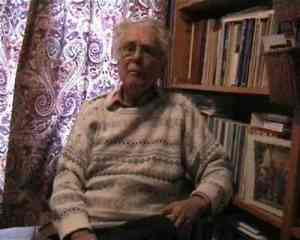 "Richard Hart at his home in London. Professor Rupert Lewis called him ""the most consistent Caribbean activist."" He received a Gold Musgrave Medal in 2005."