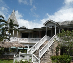 Harmony Hall in St. Mary houses a lovely art gallery. For many years it has hosted exhibitions of Jamaican intuitive art - its 32nd will be on December 29, 2013. (Photo: Harmony Hall website)