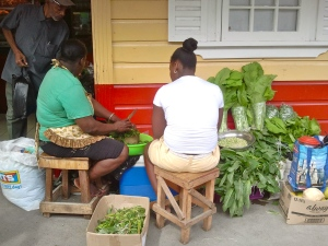 Women at market, Port Antonio.