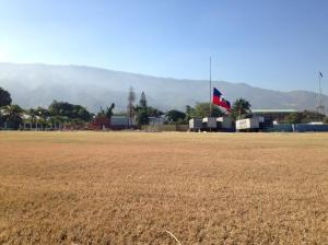 Where the National Palace once stood: Port-au-Prince, Haiti, January 12, 2014. (Photo: Twitter)