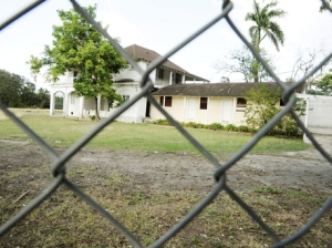 The 62 Lady Musgrave Road, St Andrew, property on which the National Insurance Fund would like to construct a housing project that retired businessman Sameer Younis has prevented from beginning for more than a decade. - File (The Gleaner's caption, not mine)