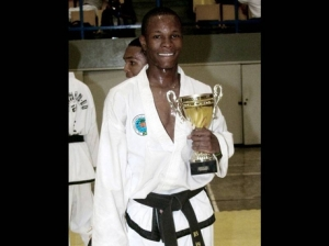 Jamaican martial arts star Nicholas Dussard, a graduate of Wolmer's Boys' School and a University of Technology student, became World Lightweight Continuous Sparring Champion in 2011, and continues to win medals in world competition. However, what local recognition has he received? (Photo: Gleaner)