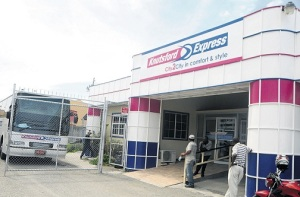 Luxury coach provider Knutsford Express Services Limited lists on the Jamaica Stock Exchange (JSE) Junior Market today. (Photo: Jamaica Observer)