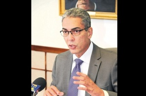 Businessman Richard Byles, who heads the Economic Programme Oversight Committee.