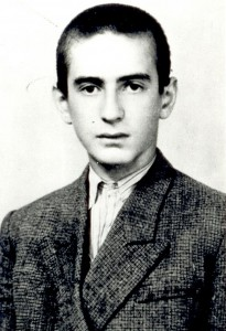 A young Elie Wiesel. (Courtesy Elie Wiesel Foundation for Humanity)