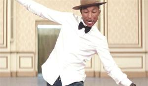 Yup! Pharrell Williams is happy, and it's infectious!