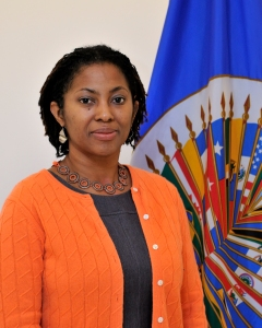 Congratulations to Commissioner Tracy Robinson. (Photo: Juan Manuel Herrera/OAS