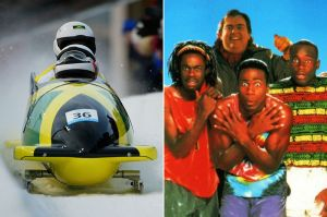 "A marketing no-brainer: The bobsled team and a promo for the immensely successful ""Cool Runnings"" film."