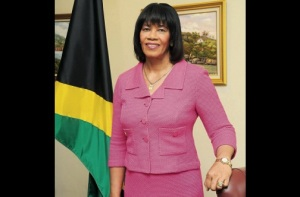 Prime Minister Portia Simpson Miller. By the way, the PM has recovered from her bout of laryngitis. (Photo: Bryan Cummings/Jamaica Observer)