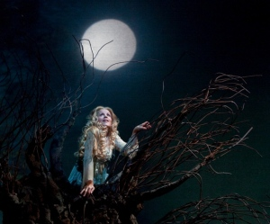 Rusalka, the tree and the moon.
