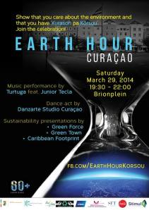 Earth Hour Curacao.