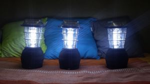 Earth Strong TT and Trinidad Carnival Diary prepared solar-powered lanterns for Earth Hour.